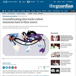 Groundbreaking data tracks carbon emissions back to their source