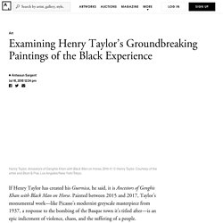Examining Henry Taylor's Groundbreaking Paintings of the Black Experience - Artsy
