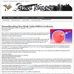 Groundbreaking New Study Links GMO to Leukemia