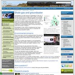 BRITISH GEOLOGICAL SURVEY - Shale gaz.