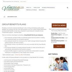 Group Benefits Plan at Vanrooy Mills