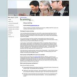Group coaching - Coaching Connect