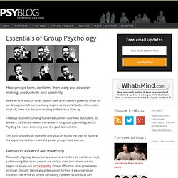 Group Psychology