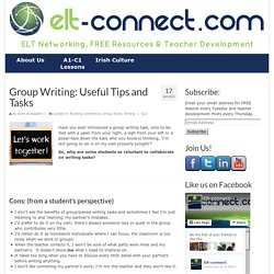 Group Writing: Useful Tips and Tasks - ELT Connect