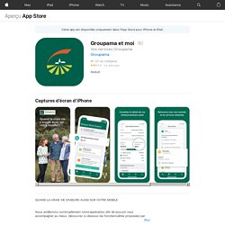 Groupama et moi dans l'App Store