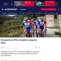Groupama et FDJ rempilent jusqu'en 2024 - Cyclisme