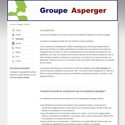 Groupe Asperger - Syndrome