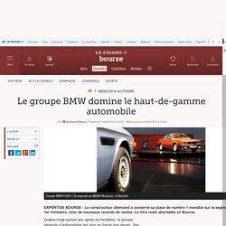 Le groupe BMW domine le haut-de-gamme automobile