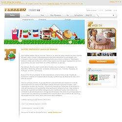Groupe Ferrero: toutes les infos du groupe Ferrero sur Ferrero.fr