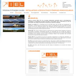 LE Initiatives & Energies Locales groupe