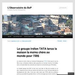 Tata: maison en kit à 500€