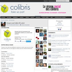 Groupe Local Colibris 56 Lorient
