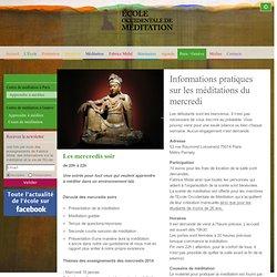 Groupe de méditation à Paris et cours de méditation pour les débutants