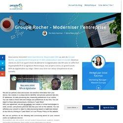 Groupe Rocher - Moderniser l'entreprise