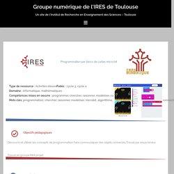 micro:bit – Groupe numérique de l'IRES de Toulouse