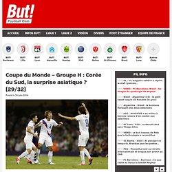 Coupe du Monde – Groupe H : Corée du Sud, la surprise asiatique ? (29/32)