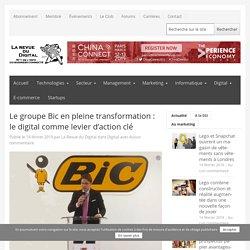 Le groupe Bic en pleine transformation: le digital comme levier d'action clé