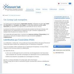 Autonom' Lab, agence régionale d'innovation en santé, autonomie et bien-être des personnes.