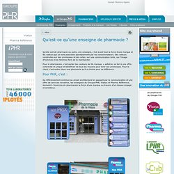 Groupe Phr - Groupement de pharmaciens d'officine