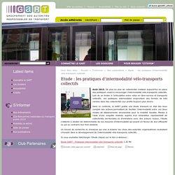 Site du GART - Groupement des Autorités Responsables des Transports