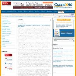 Groupements hospitaliers de territoires : vingt conditions pour réussir