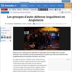 International : Grande-Bretagne : les groupes d'auto-défense inquiètent