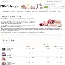 Groupes de qualités DROPS