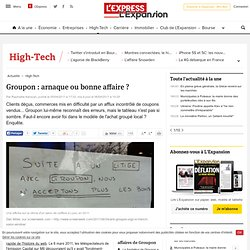 ++ Synthese + Bulle / Groupon : arnaque ou bonne affaire ?