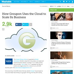 How Groupon Uses the Cloud to Scale its Business
