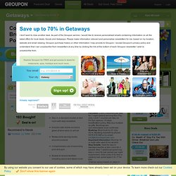 Groupon.ie – Local Deals, Goods and Getaways