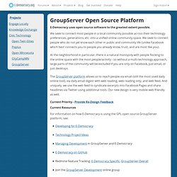 GroupServer Open Source Platform: E-Democracy.org