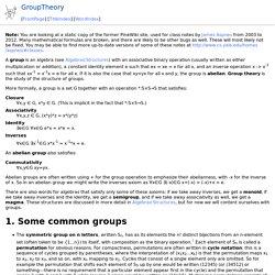GroupTheory