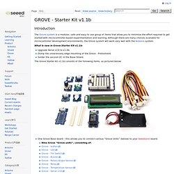 GROVE - Starter Kit v1.1b