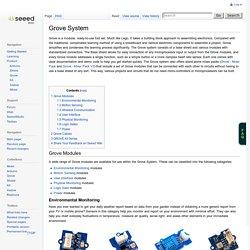 GROVE System