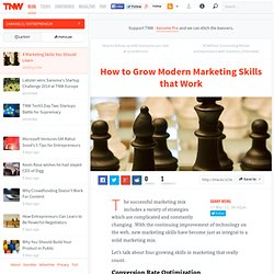How to Grow Modern Marketing Skills that Work