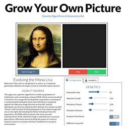 Grow Your Own Picture