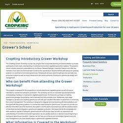Grower's School