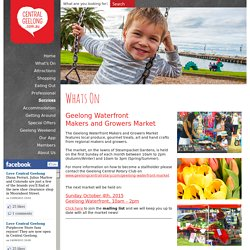 Makers & Growers Market Central Geelong Shopping, Events and more!