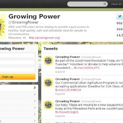 Growing Power (growingpower) sur Twitter