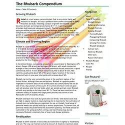 The Rhubarb Compendium