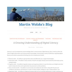 A Growing Understanding of Digital Literacy – Martin Wolske's Blog