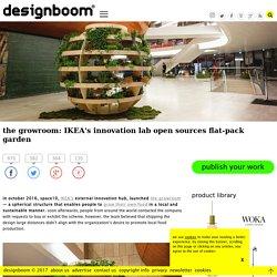 the growroom: IKEA open sources spherical garden