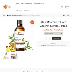 Buy Hair Growth Serum for Hair Loss, Compare Price, Review Online India