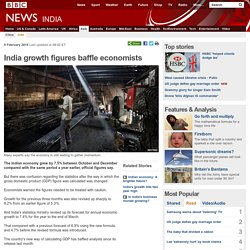 India growth figures baffle economists