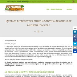 Growth Marketeur Vs Growth Hacker : quel terme choisir ?