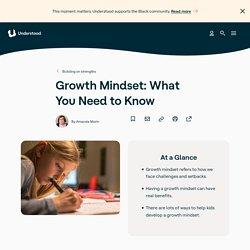 Growth Mindset: How to Help Kids Develop Growth Mindset