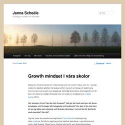 Growth mindset i våra skolor