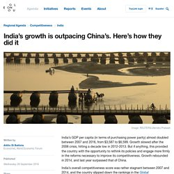India's growth is outpacing China's. Here's how they did it