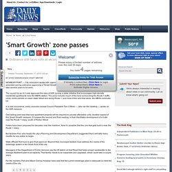 'Smart Growth' zone passes - The Daily News of Newburyport
