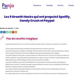 Les 9 Growth Hacks qui ont propulsé Spotify, Candy Crush et Paypal